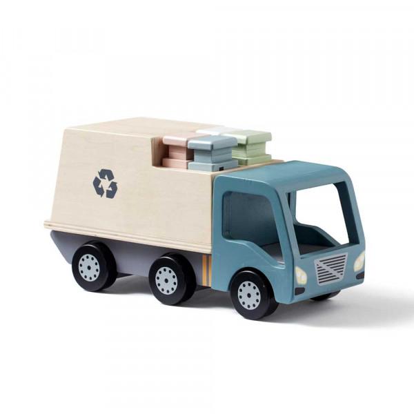 Kids Concept Spielzeug Müllwagen Holz
