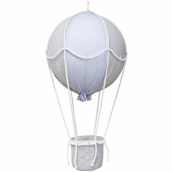 Caramella Deko Heissluftballon blau