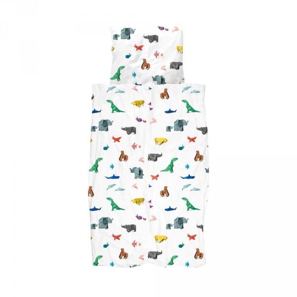 Snurk Bettwäsche Origami Zootiere 135 x 200