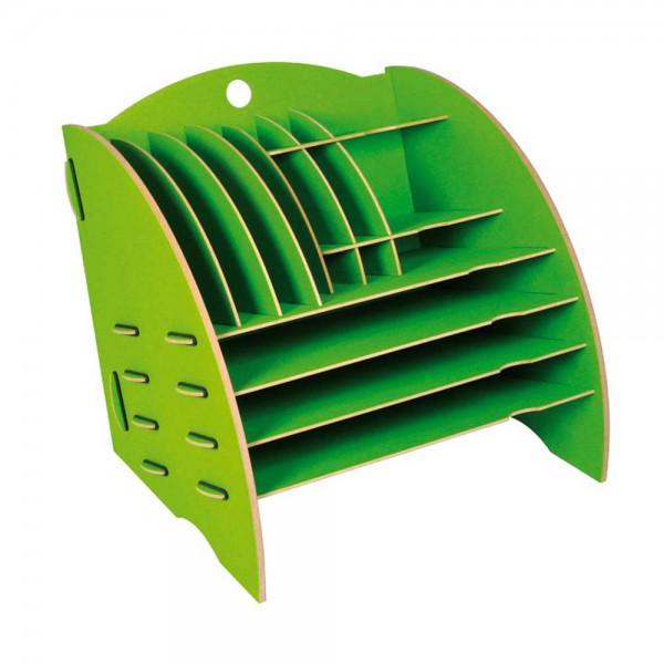 Werkhaus Schreibtisch Organizer grün