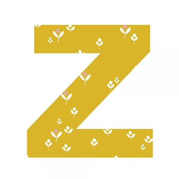 Lilipinso Sticker Buchstabe geblümt Z