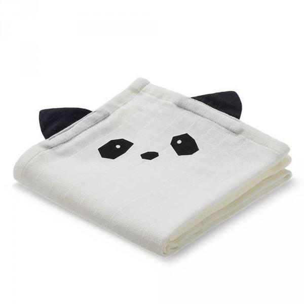 """Liewood """"Hannah"""" Mulltücher Panda creme"""