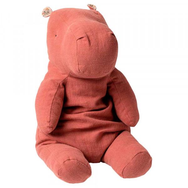 Maileg Stofftier Hippo altrosa gross