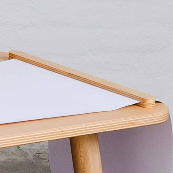 Pure Position Growing Table Führung & Abreißschiene Buche
