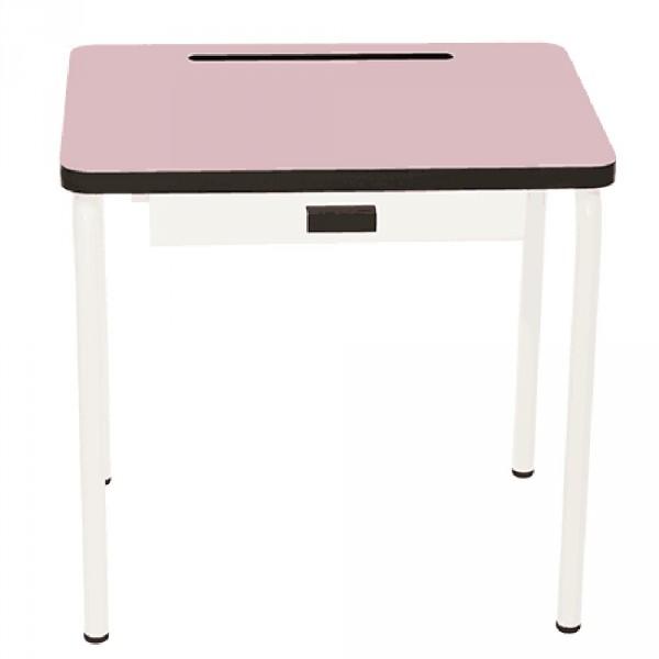 Gambettes Kindertisch/Schreibtisch Regine puder rosa