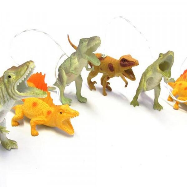 Lichterkette Dinosaurier