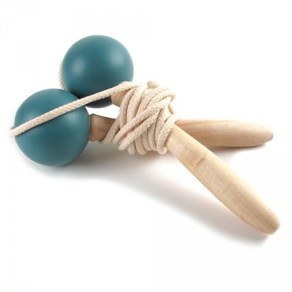 Nobodinoz Springseil Holz blau