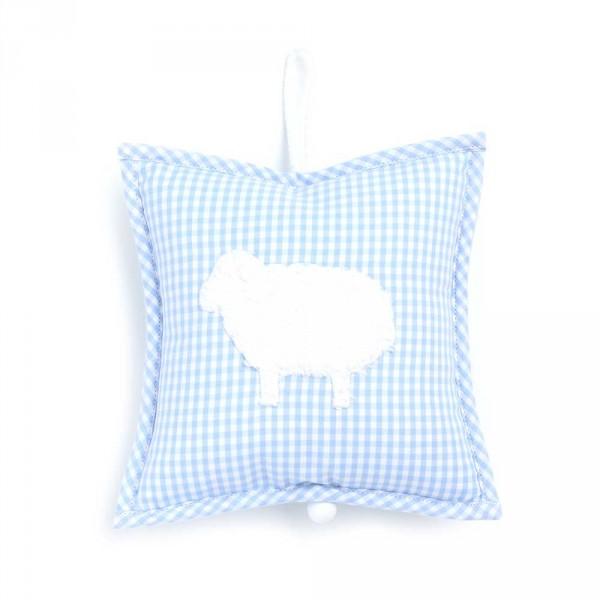 Spieluhr Vichy Karo hellblau