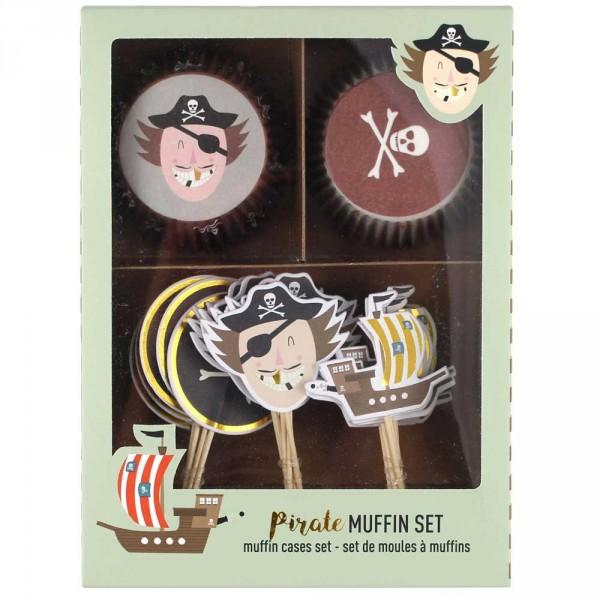 Ava & Yves Cupcake Set Pirat