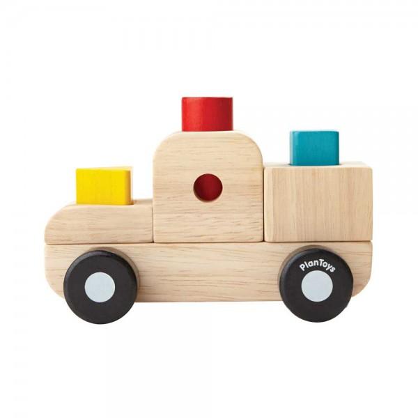Plan Toys Sortier-Laster Holz
