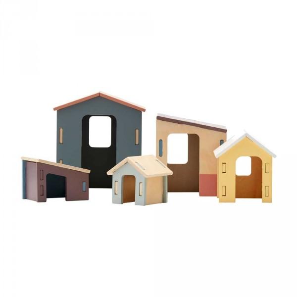 Kids Concept Häuschen-Set Holz