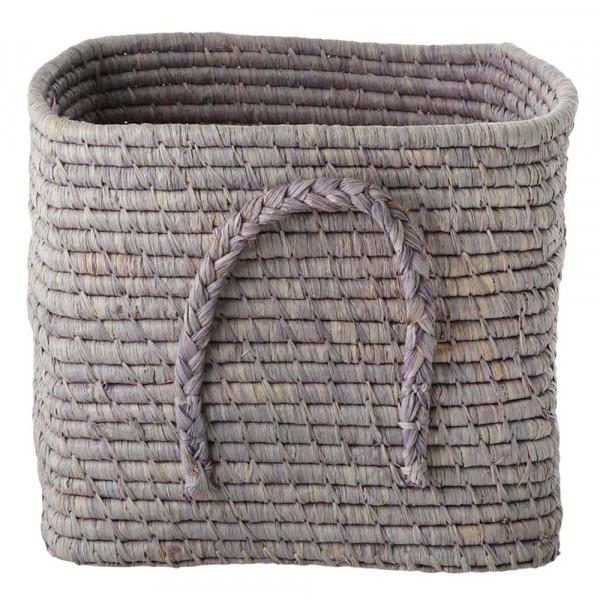 Rice Bastkorb zart lavendel 30 x 30