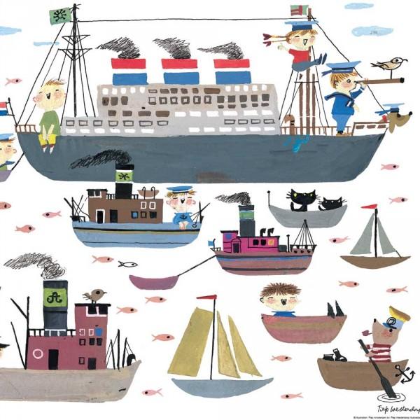 Kek Amsterdam Kinderposter Schiffe