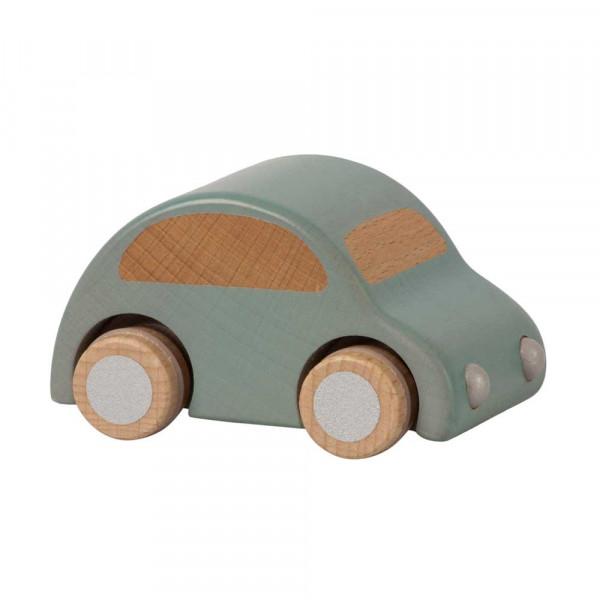 Maileg Holz Spielzeugauto hellblau