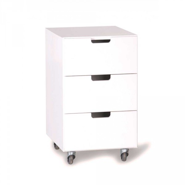 Manis-h Rollcontainer weiss