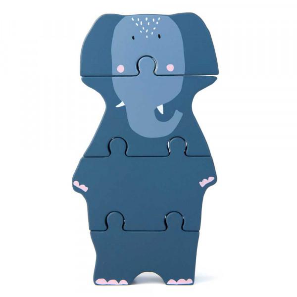 Trixie Puzzle Mrs. Elephant Holz