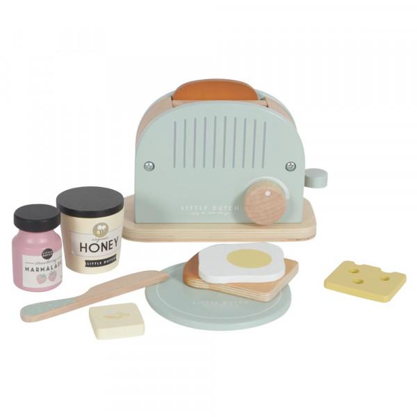 Little Dutch Holz Spielküche Zubehör Toaster