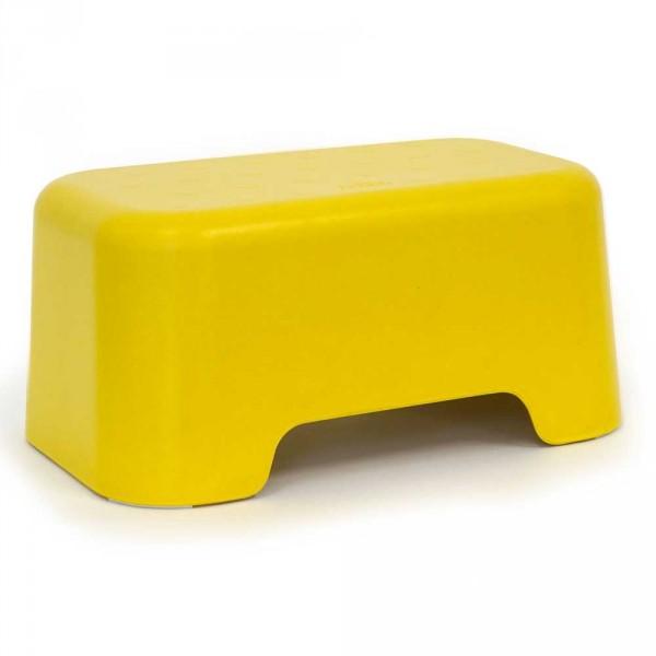 Ekobo Kinder Tritthocker gelb