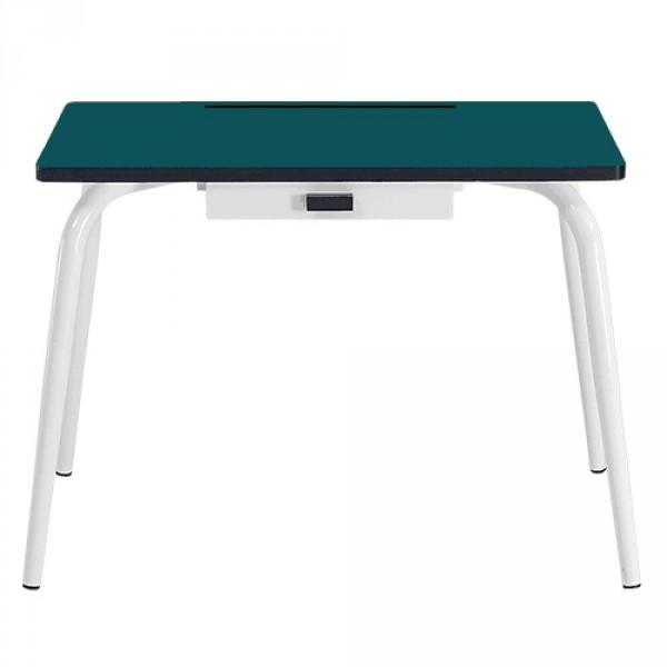 Gambettes Kindertisch/Schreibtisch Romy blau grün