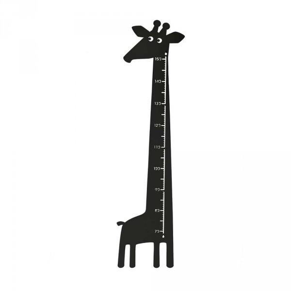 Roommate Messlatte Giraffe Metall schwarz