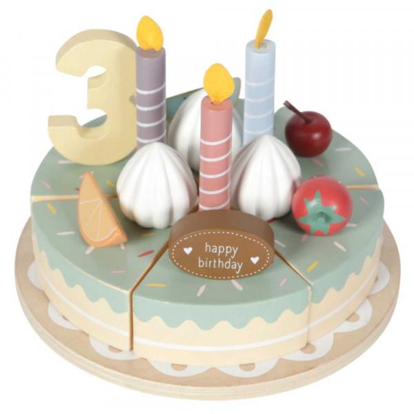 Little Dutch Holzspielzeug Geburtstagskuchen