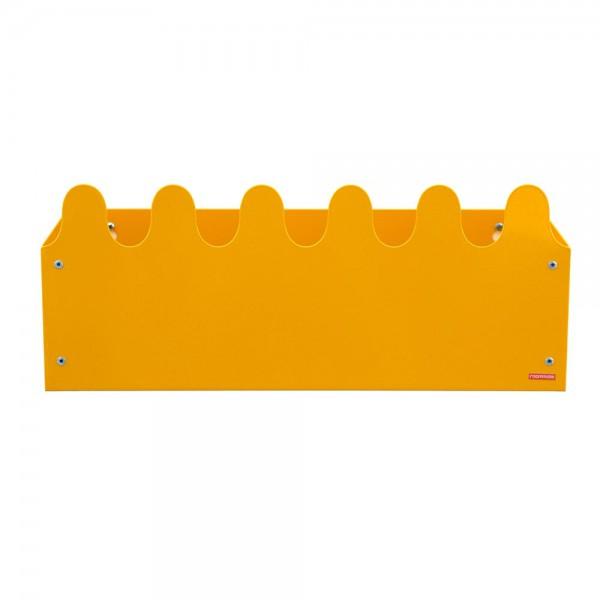 Roommate Wandbox Sinus Metall gelb