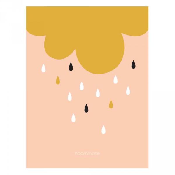 Roommate Kinderposter goldener Regen