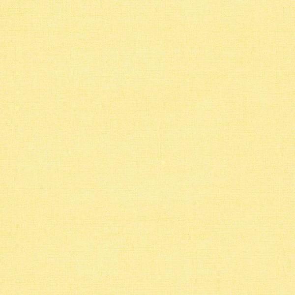 Eijffinger Tout Petit Kindertapete Leinwandoptik uni gelb