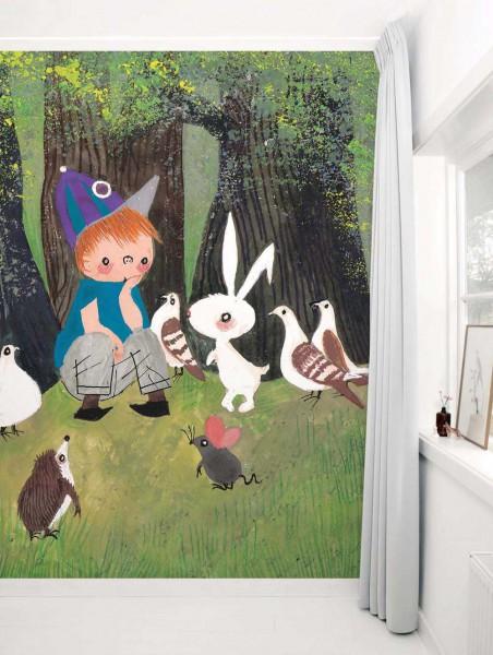 Kek Amsterdam Tapeten Wandbild kleine Familie