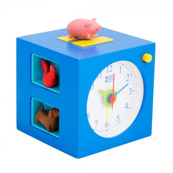 Kookoo Kinderwecker Kids Alarm Tiere blau
