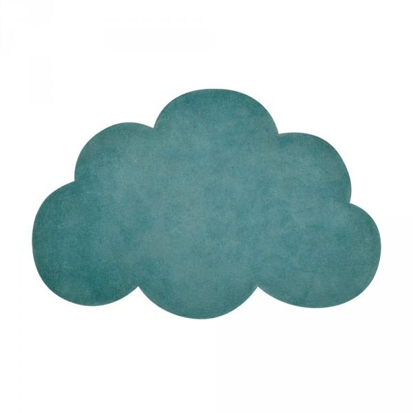 Lilipinso Teppich Wolke grün