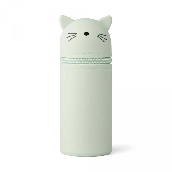 "Liewood ""Vitus"" Stiftemäppchen Katze mint"