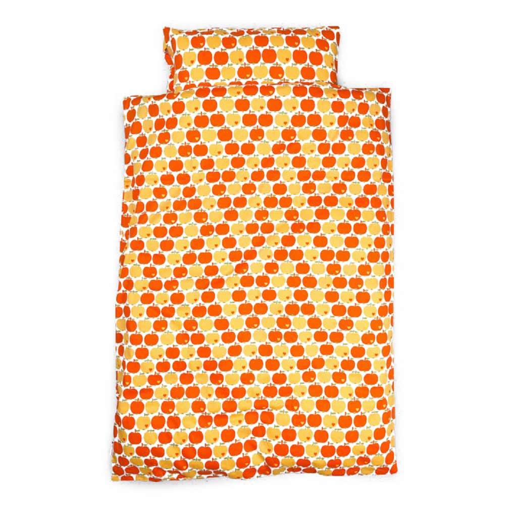 Graziela Kinderbettwäsche äpfel Gelb Orange 100 X 135 Bei Kinder Räume