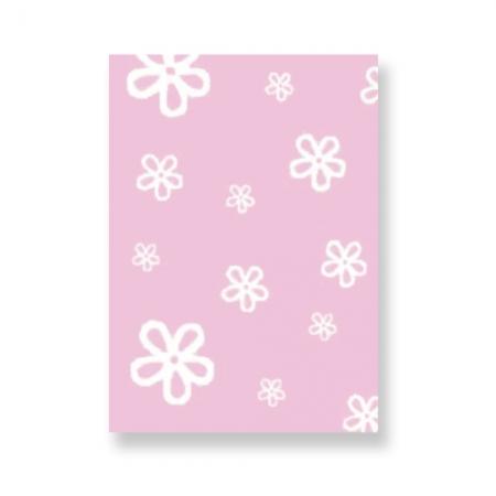 Lorena Canals Teppich Blumen rosa bei kinder räume
