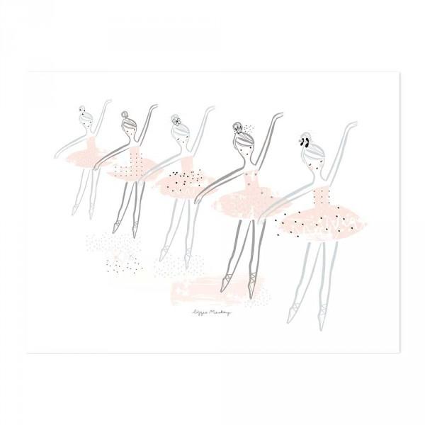 Lilipinso Poster Ballettstunde