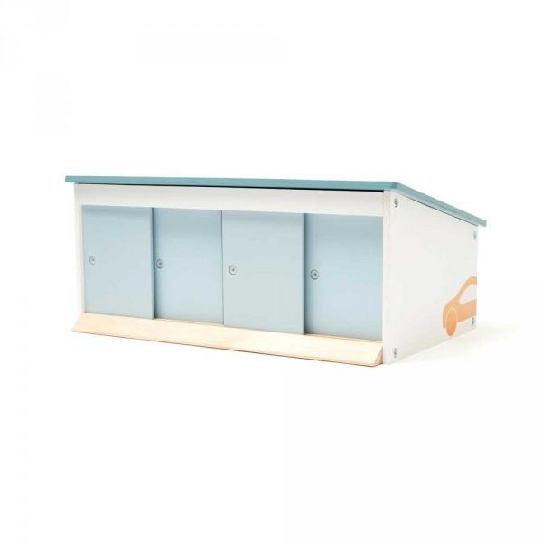 Kids Concept Spielzeug Garage Holz