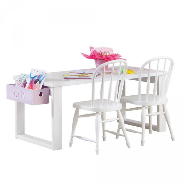 Asoral Kindertisch / Schreibtisch mit Rahmengestell 63 cm tief