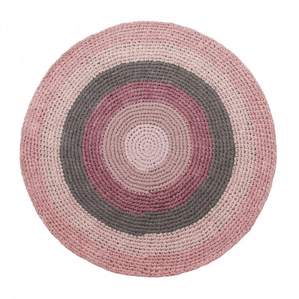Teppich rund beige