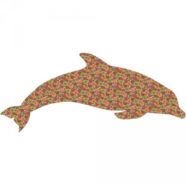 Inke Tapetentier Delfin Muster 009