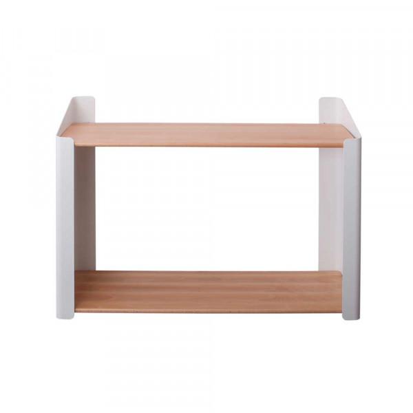 Sebra Bücherregal Holz doppelt weiss