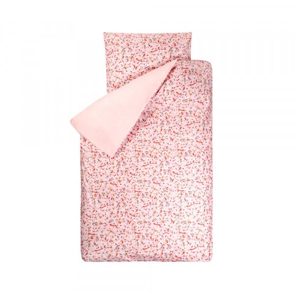 Bink Kinderbettwäsche Sofie Tiere rosa 100 x 135