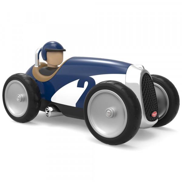 Baghera Spielzeug Rennauto blau