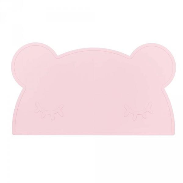 We Might Be Tiny Kinder Tischset Silikon Bär rosa