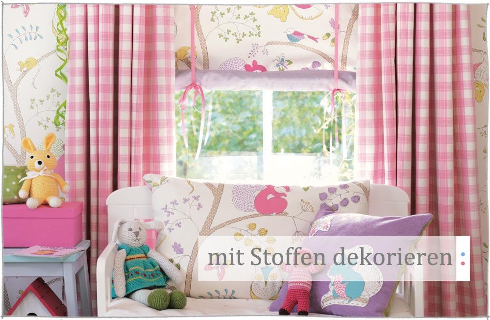 Wie Sie Ihr Kinderzimmer Mit Stoffen Dekorieren Und Einrichten Können