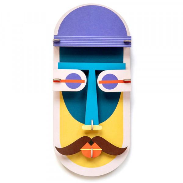 studio ROOF 3D Deko Maske Chikago Pappe