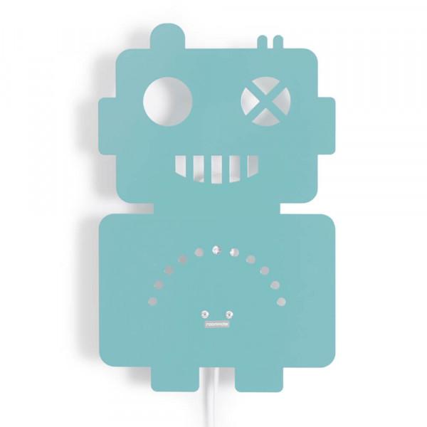 Roommate Wandlampe Metall Roboter blau