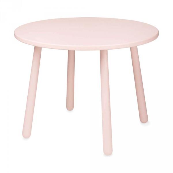 Cam Cam Kindertisch rund Herz rosa