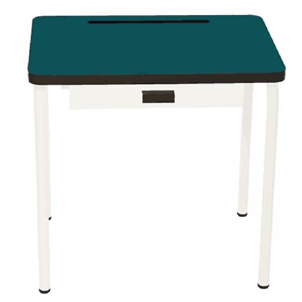 Gambettes Kindertisch/Schreibtisch Regine grün blau