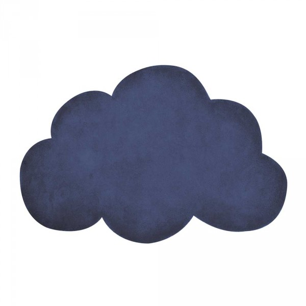 Lilipinso Teppich Wolke dunkelblau