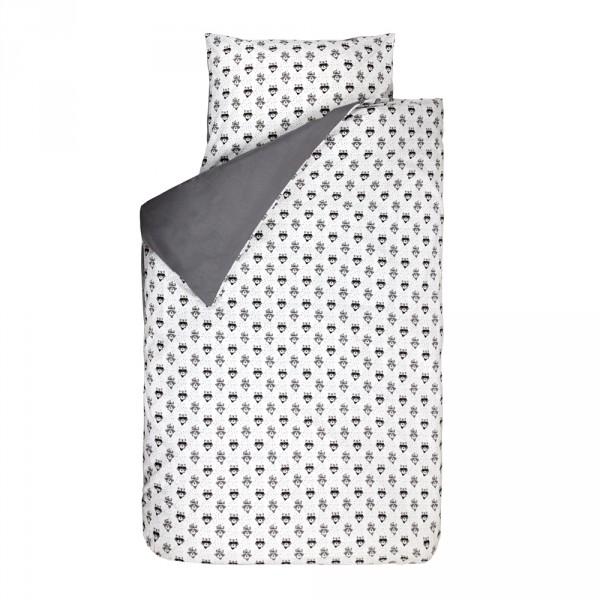 Bink Bettwäsche Indianer Waschbär Grau 100 X 135 Bei Kinder Räume